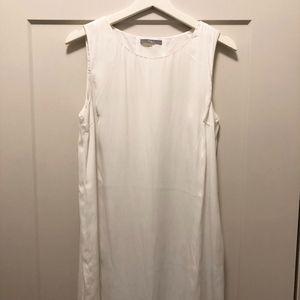 White Sleeveless Dress